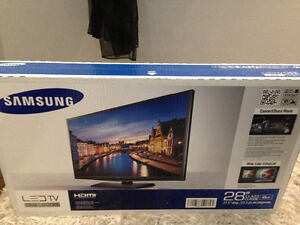 Brand new tv in the box