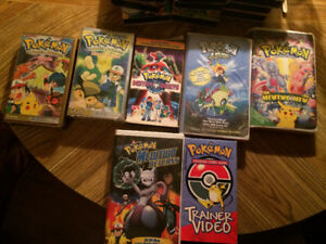 Pokemon VHS movies