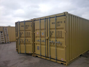 Storage Container & Adjacent Parking for Lease - Central Locatio
