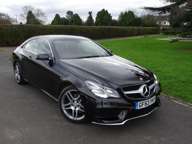 mercedes e class e220 cdi amg sport coupe 2014 63 in ilford london gumtree. Black Bedroom Furniture Sets. Home Design Ideas
