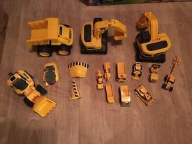 Boys toy digger bundle