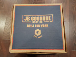 BRAND NEW JB GOODHUE TROOPER BOOTS  SIZE 9