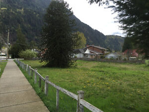 Large Building Lot zoned for Duplex, one block to Harrison Lake