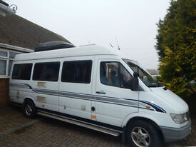 Mercedes-Benz Campa For Sale, 1998 2.9 Diesel 5 Speed Manual 4 Berth Rear Lounge