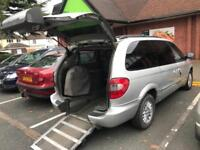 2003 Chrysler Grand Voyager 2.5 CRD Limited 5dr 5 door Wheelchair Adapted