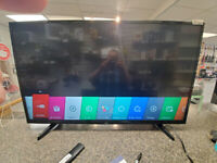 """LG 49"""" Smart tv for $299.95 plus taxes @ First Stop Swap Shop!"""
