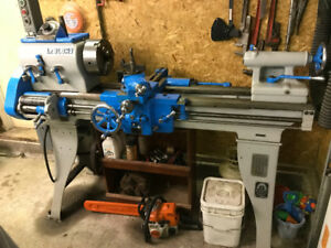 Vintage Le Blond Regal Metal lathe restored beautiful 1950's
