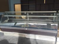 Double Valero Chiller Counter for sale