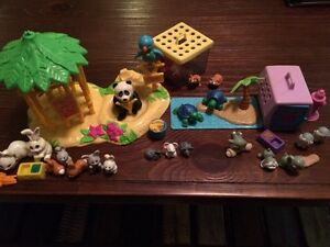 Vintage 1992-1993 littlest pet shops