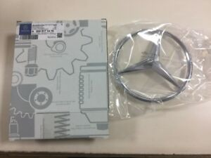 Mercedes Brand New Emblems for Front Grill, Hood, Wheel Center,