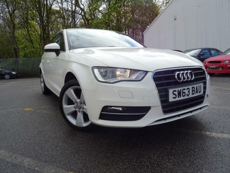 63 plate audi a3 1 6 tdi sport automatic white in bradford west yorkshire gumtree. Black Bedroom Furniture Sets. Home Design Ideas