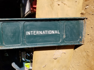1969 or 1970 International 1/2 ton truck tailgate