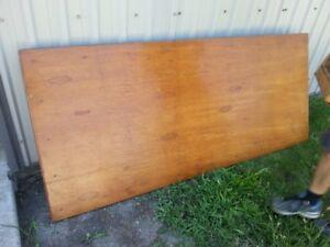 large wood folding table
