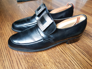 Highland  Prince Charlie Kilt Mens Shoes Size 7 1/2