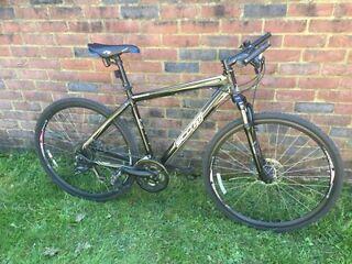 Scott sportster hybrid bike