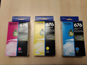 Epson 676XL High Capacity ink, Brand new never been opened.