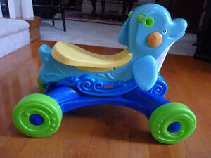 Fisher Price Ride On Dolphin