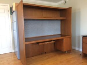 Desk Wall 6 foot Workspace Unit