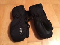 Kids snow mittens: 3-5 year old