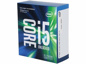 INTEL® CORE™ I5-7600K Processor 6M Cache 4 Cores Up to 4.2GHZ