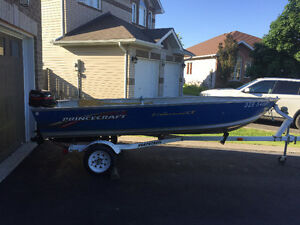 14 foot Princecraft Fisherman with trailer