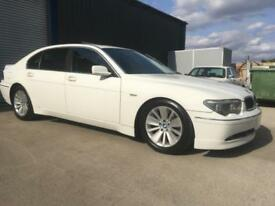 BMW 745Li LHD 7 Series 79000 kms only HUGE option list left hand drive 2004