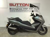 HONDA FORZA 300 SILVER WITH TOURING SCREEN