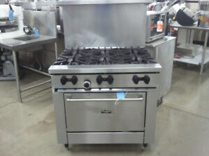 COMMERCIAL RESTAURANT RANGES / RESTAURANT EQUIPMENT