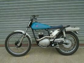 BSA Bantam 200 classic pre 65 special Trials bike