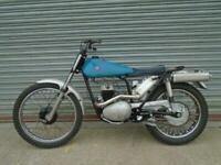 BSA Bantam 200 classic pre 65 special Trials bike