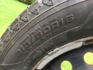 Winter tires 215-60 r16