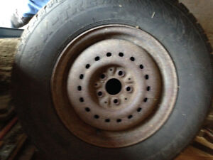 Various 205 75 14 tires on Caravan rims