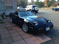 1990 Chevrolet Corvette Tripple Black Convertible