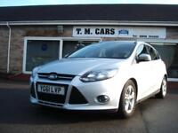 2011 (61) Ford Focus 1.6TDCi ( 115ps ) Zetec 5d ** £20 Tax **