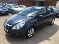 Vauxhall/Opel Corsa 1.2i 16v ( a/c ) Design 2008 Only 61K & 12 Months Mot