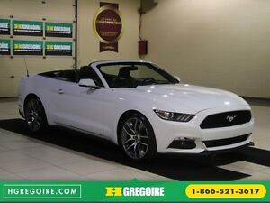 2015 Ford Mustang EcoBoost Premium AUTO A/C CUIR CONVERTIBLE MAG