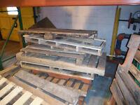 broken pallets for firewood