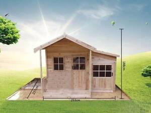 Large Solid Hardwood Timber Wooden Kids Cubby House Children Richlands Brisbane South West Preview