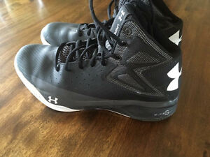 UA basketball sneakers