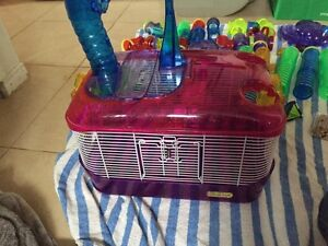 Critter Trail Hamster Cage with Tubes