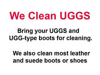 We Clean UGGS !!! And All Other Boots and Shoes