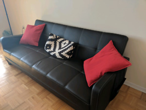 Sofa sleeper/ double bed click clack technology