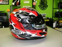 Gmax Snowmobile Helmet with SunVisor - NEW at RE-GEAR
