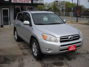 2008 TOYOTA RAV4 LIMITED REDUCED PRICE $ 8895
