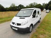 Renault Camper - Crew Cab - 5 Safety Belts - Solar Panel - Propex Heating