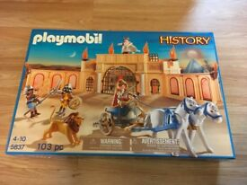 Playmobil HISTORY set - Brand New and sealed in box