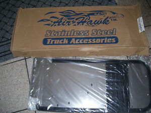 New truck mud flaps.