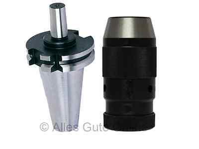 Schnellspann CNC Bohrfutter DIN69871 SK40 M16 1-16mm P (Kegeldorn G6,3/12.000)