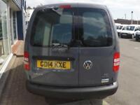 2014 Volkswagen CADDY C20 102PS TDI STARTLINE VAN *PURE GREY* Manual Small Van