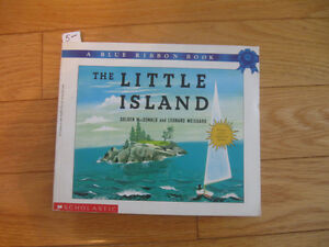 SCHOLASTIC BLUE RIBBON BOOK...THE LITTLE ISLAND...